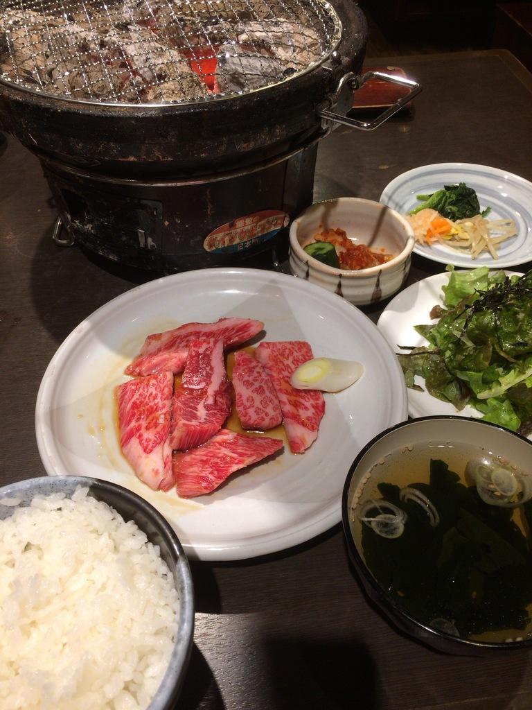 コスパの良い焼き肉ランチ